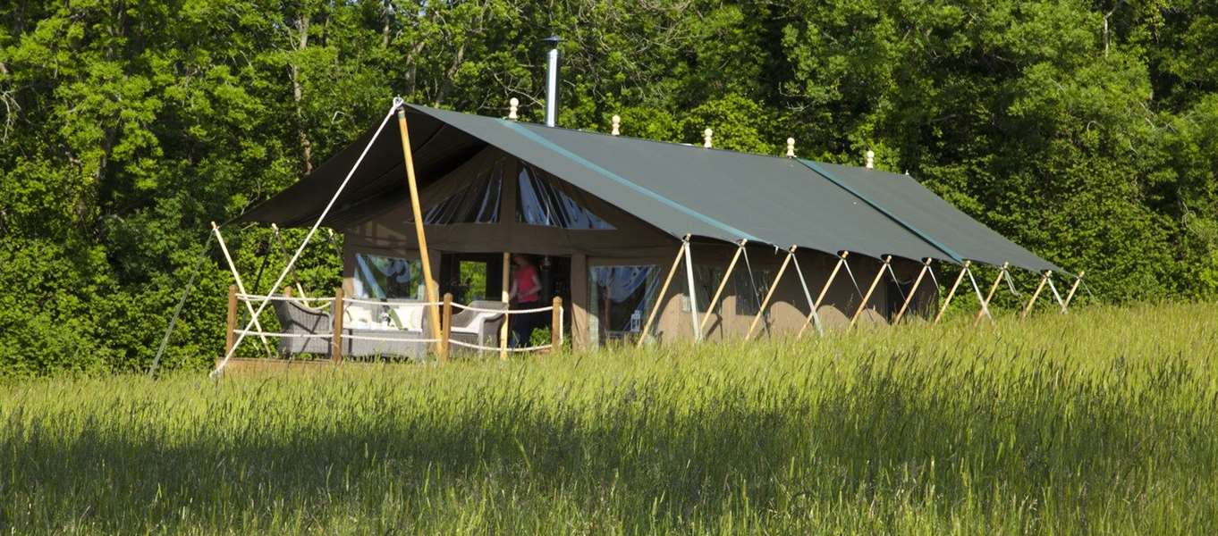 & Safari tents in South West England