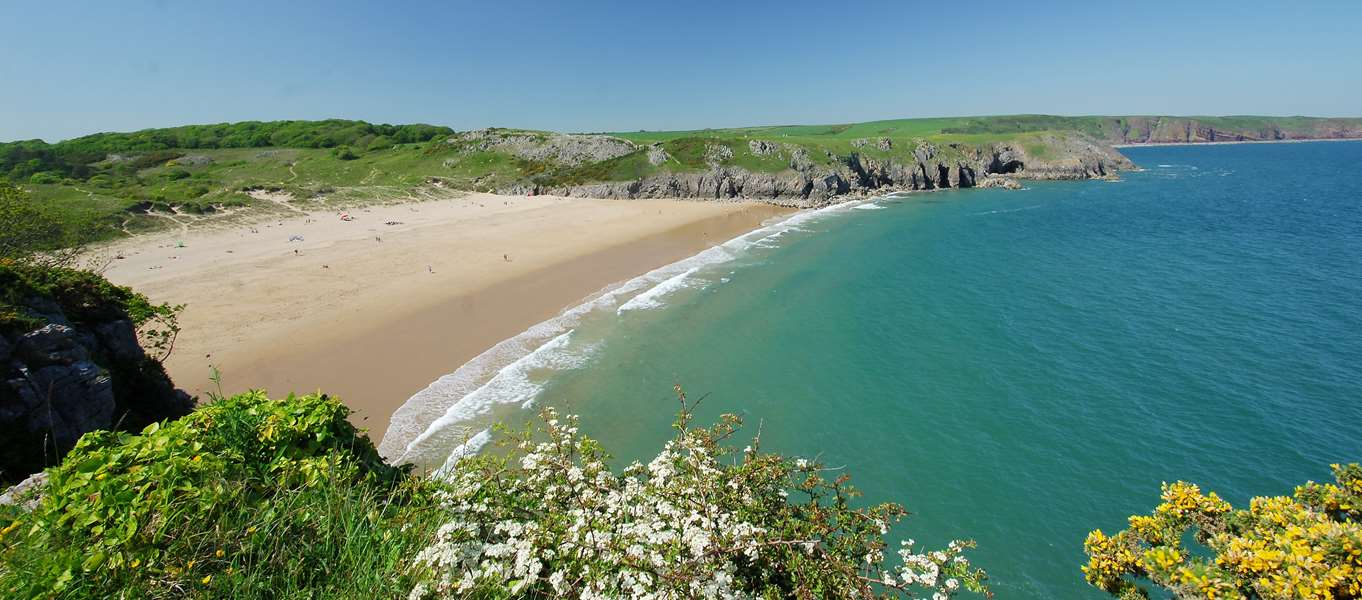 Campsites Near Barafundle Bay