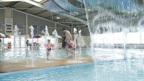 Cayton bay in scarborough north yorkshire Scarborough campsites with swimming pool