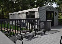 Cliff House Holiday Park Dunwich Saxmundham Suffolk & Safari tents
