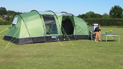 Ready-Tent & Garrison Campsite in Isles Of Scilly Cornwall