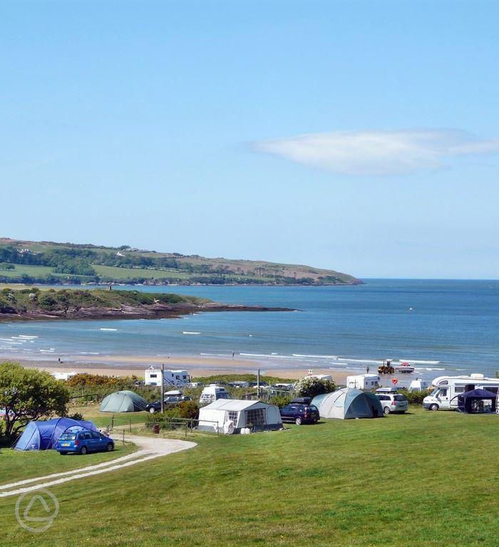 Dafarn Rhos Touring Caravan and Camping Site in Moelfre ...
