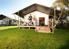 Widemouth Bay Caravan Park Bude Cornwall & Safari tents