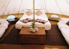 The Farm C& Bradford on Avon Wiltshire & Bell tents in the Cotswolds