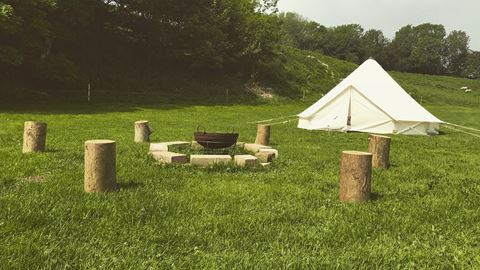 yurts firle sussex