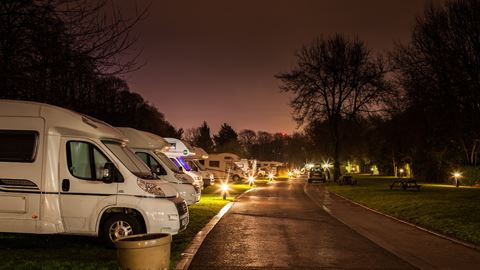 Cardiff Caravan and Camping Park in Cardiff, Cardiff