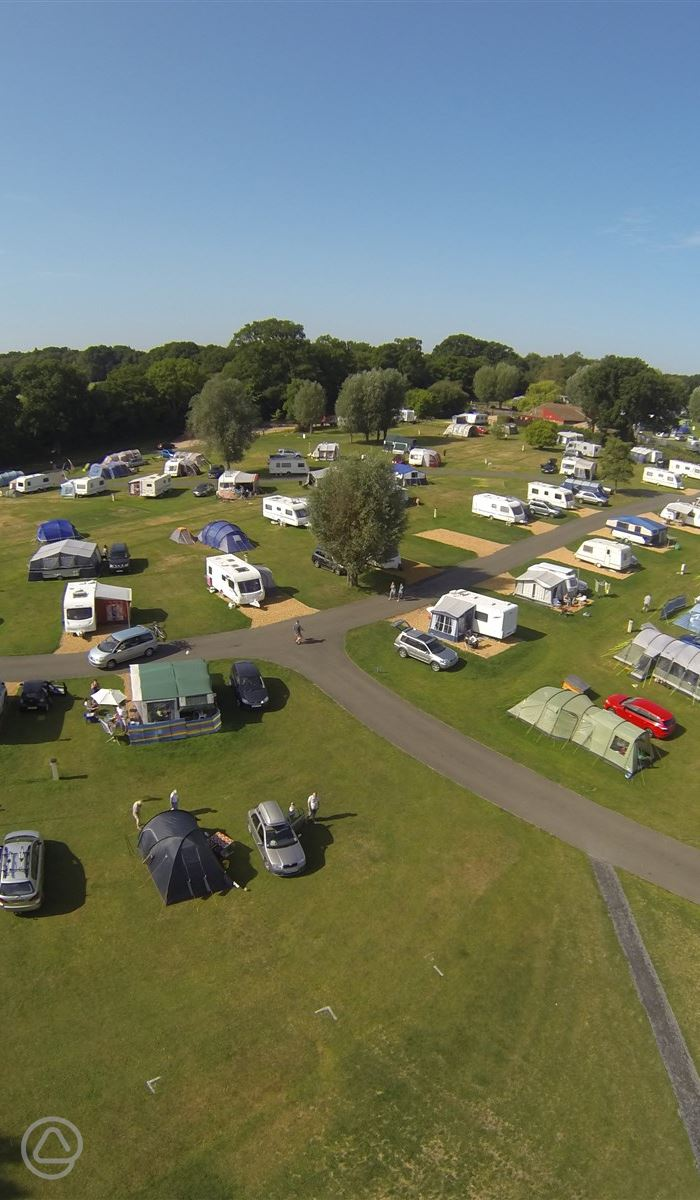 New forest campsites with hook up