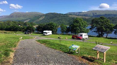 Dog Friendly Campsites West Coast Scotland