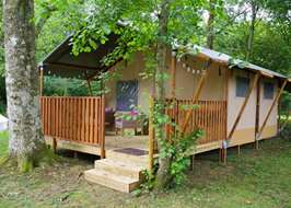 Rivendell Clothing Optional Resort Wimborne Dorset & Safari tents in Dorset