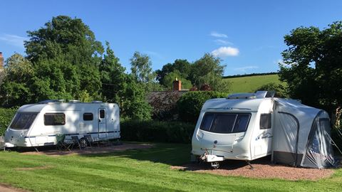 Church Cottage Caravan and Camping in Abergavenny, Monmouthshire