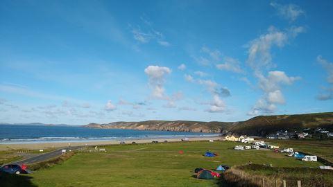Newgale Campsite In Haverfordwest Pembrokeshire