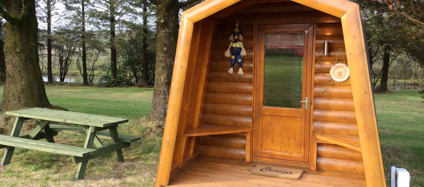 Glamping Pods And Camping Pods In Wales