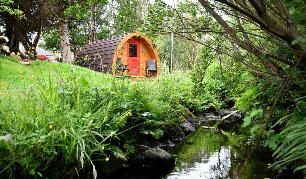 Glamping and camping pods in Scotland 60+ top Scottish pods