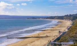 bournemouth beach camping tents