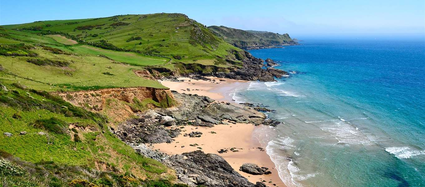 Beach Campsites South West England